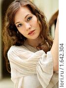 Купить «Портрет красивой девушки», фото № 1642304, снято 2 марта 2009 г. (c) Андрей Аркуша / Фотобанк Лори