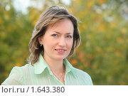Купить «Портрет женщины», фото № 1643380, снято 3 сентября 2009 г. (c) Losevsky Pavel / Фотобанк Лори