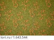 Купить «Текстура обоев с орнаментом в стиле ретро», фото № 1643544, снято 10 ноября 2009 г. (c) Losevsky Pavel / Фотобанк Лори