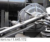 Деталь железнодорожной грузовой платформы. Стоковое фото, фотограф Кеша Валерианов / Фотобанк Лори