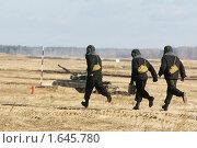 Купить «Танковые учения», фото № 1645780, снято 26 февраля 2008 г. (c) Иван Нестеров / Фотобанк Лори