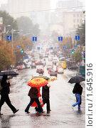 Купить «Городское население», фото № 1645916, снято 19 сентября 2008 г. (c) Иван Нестеров / Фотобанк Лори