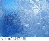 Купить «Замерзшее окно», фото № 1647448, снято 10 декабря 2005 г. (c) Dina / Фотобанк Лори