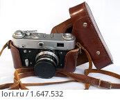 Старый фотоаппарат (2009 год). Редакционное фото, фотограф Александр Масалев / Фотобанк Лори