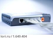 Коннектор для интернета. Стоковое фото, фотограф Александр Букша / Фотобанк Лори