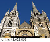 Купить «Франция Байонна Костел», фото № 1652068, снято 20 июня 2008 г. (c) Савельев Андрей / Фотобанк Лори