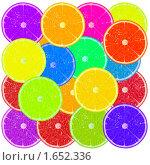 Купить «Разноцветные дольки апельсина», иллюстрация № 1652336 (c) Alperium / Фотобанк Лори