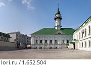 Купить «Мечеть Аль-Марджани (Первая соборная мечеть г. Казань)», эксклюзивное фото № 1652504, снято 17 апреля 2010 г. (c) Кучкаев Марат / Фотобанк Лори