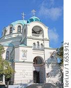 Свято-Николаевский собор в Евпатории (2009 год). Стоковое фото, фотограф Кирилл Губа / Фотобанк Лори