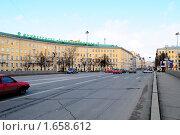 Купить «Вид на Университет путей сообщения, Московский проспект», фото № 1658612, снято 24 апреля 2010 г. (c) Виктор Карасев / Фотобанк Лори