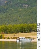 Купить «Озеро Байкал», фото № 1659132, снято 12 сентября 2008 г. (c) Andrey M / Фотобанк Лори