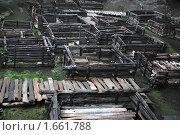 Купить «Раскопки  города Берестье в археологическом музей города Брест», фото № 1661788, снято 3 августа 2009 г. (c) Aleksander Kaasik / Фотобанк Лори