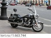 Купить «Мотоцикл», фото № 1663744, снято 26 апреля 2010 г. (c) Галина Беззубова / Фотобанк Лори