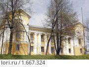 Здание Ярославского Епархиального Управления (2009 год). Стоковое фото, фотограф Петр Бюнау / Фотобанк Лори