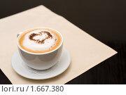 Купить «Кофе с любовью», фото № 1667380, снято 21 февраля 2010 г. (c) Александр Подшивалов / Фотобанк Лори