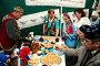 Национальные угощения в палатке татаро-башкирских культур, фото № 1667492, снято 12 июня 2008 г. (c) Владимир Мельников / Фотобанк Лори