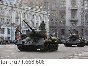 Репетиция парада в Москве 29.04.2010. Редакционное фото, фотограф Марина Коробанова / Фотобанк Лори