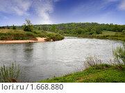 Купить «Река Угра», фото № 1668880, снято 10 мая 2008 г. (c) Parmenov Pavel / Фотобанк Лори