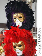 Венецианские маски. Стоковое фото, фотограф Баранова Анна / Фотобанк Лори