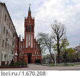 Купить «Органный зал, филармония в Калининграде», фото № 1670208, снято 30 апреля 2010 г. (c) Наталья Лабуз / Фотобанк Лори