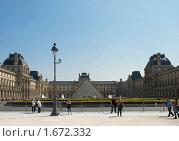 Купить «Лувр», фото № 1672332, снято 18 апреля 2010 г. (c) Елена Хоткина / Фотобанк Лори