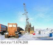 Купить «Буровая», фото № 1674268, снято 14 марта 2008 г. (c) Мирзоянц Андрей / Фотобанк Лори