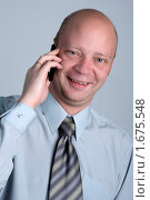 Счастливый бизнесмен. Стоковое фото, фотограф Татьяна Ежова / Фотобанк Лори