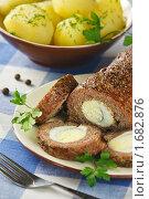 Купить «Рулет из мясного фарша с яйцом», эксклюзивное фото № 1682876, снято 5 мая 2010 г. (c) Лисовская Наталья / Фотобанк Лори