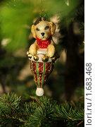 Елочная игрушка. Стоковое фото, фотограф Kovalenko Vera / Фотобанк Лори