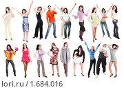 Купить «Люди на белом фоне», фото № 1684016, снято 15 ноября 2018 г. (c) Майя Крученкова / Фотобанк Лори