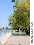 Купить «Набережная реки Кубань в Краснодаре», фото № 1684520, снято 1 мая 2010 г. (c) Анна Мартынова / Фотобанк Лори