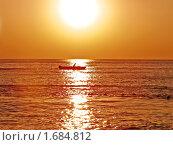 Купить «Вечер на море», фото № 1684812, снято 27 августа 2005 г. (c) Владимир Сергеев / Фотобанк Лори