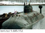Купить «Атомные подводные лодки», фото № 1685112, снято 17 августа 2018 г. (c) Владимир СмышленкОв / Фотобанк Лори