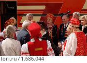 Встреча ветеранов (2010 год). Редакционное фото, фотограф Роман Смирнов / Фотобанк Лори