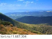 Купить «Закарпатья - высокогорная вид», фото № 1687304, снято 30 июля 2009 г. (c) Aleksander Kaasik / Фотобанк Лори