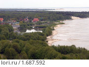 Купить «Морское - вид с дюны Эфа», эксклюзивное фото № 1687592, снято 10 мая 2009 г. (c) Svet / Фотобанк Лори