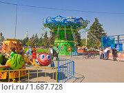 Купить «Карусель на ВВЦ (ВДНХ)», эксклюзивное фото № 1687728, снято 8 мая 2010 г. (c) Алёшина Оксана / Фотобанк Лори