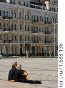 Софиевская площадь (2010 год). Редакционное фото, фотограф Нестерова Галина / Фотобанк Лори