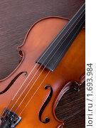Купить «Фрагмент скрипки», фото № 1693984, снято 27 февраля 2010 г. (c) Jan Jack Russo Media / Фотобанк Лори
