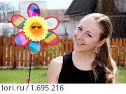 Купить «Солнышко в руках», фото № 1695216, снято 7 мая 2010 г. (c) Андрей Аркуша / Фотобанк Лори