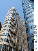 Купить «Здания делового центра», фото № 1695676, снято 8 мая 2010 г. (c) Шейнина Ольга / Фотобанк Лори