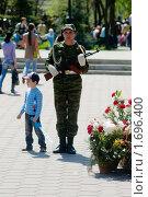Купить «Почётный караул», фото № 1696400, снято 9 мая 2010 г. (c) Вадим Орлов / Фотобанк Лори
