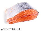 Купить «Сырая семга», фото № 1699348, снято 28 апреля 2010 г. (c) Елена Блохина / Фотобанк Лори