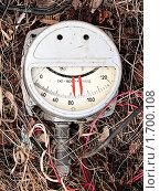 Купить «Датчик как смешная рожица», фото № 1700108, снято 1 мая 2010 г. (c) Алексей Рогожа / Фотобанк Лори