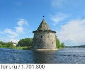 Купить «Плоская башня в Пскове», фото № 1701800, снято 24 мая 2009 г. (c) Валентина Троль / Фотобанк Лори