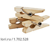 Деревянные прищепки. Стоковое фото, фотограф Анна Кондрашова / Фотобанк Лори