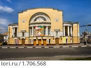 Здание театра имени Федора Волкова. Ярославль (2010 год). Редакционное фото, фотограф Николай Винокуров / Фотобанк Лори