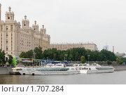 Купить «Обновленная гостиница Украина на берегу реки Москва», фото № 1707284, снято 16 мая 2010 г. (c) nikshor / Фотобанк Лори