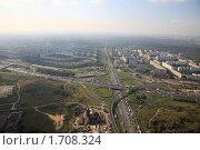 Купить «Пересечение МКАД - шоссе Энтузиастов», фото № 1708324, снято 25 сентября 2008 г. (c) Дмитрий Бакулин / Фотобанк Лори