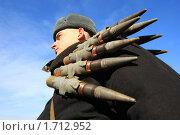 Купить «Солдат», фото № 1712952, снято 26 февраля 2008 г. (c) Иван Нестеров / Фотобанк Лори